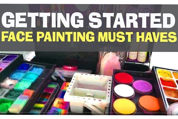 Face painting kit must. Haves – what's in my face painting set up