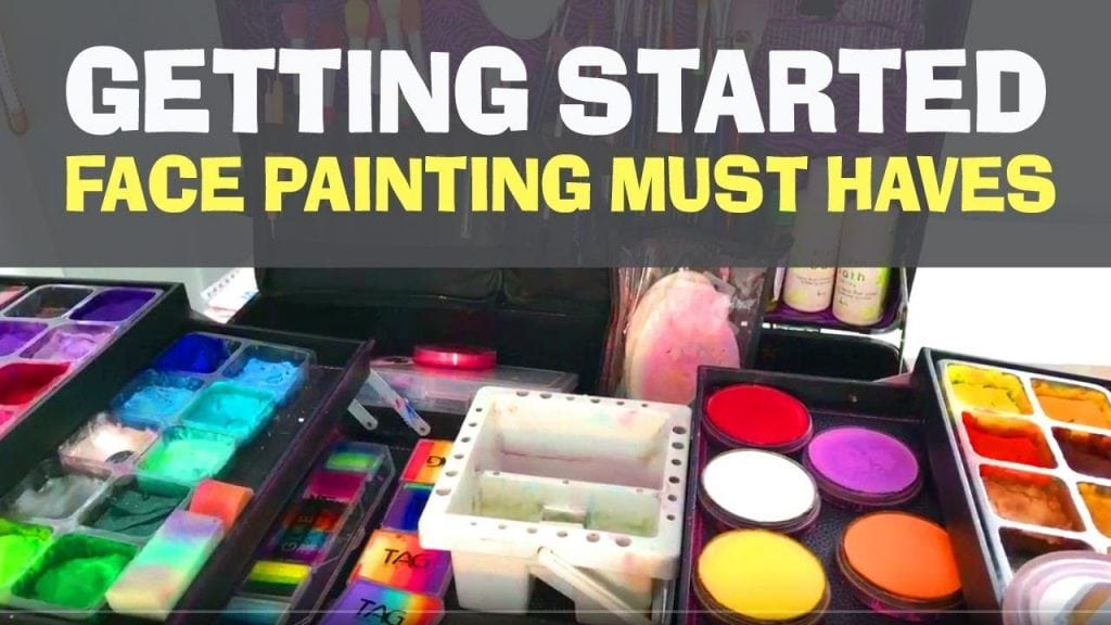 Face Painting Kit Must Haves – What I have in my Face Painting Kit
