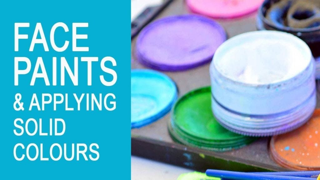 Free Face Painting Classes Online – Introduction to Face Paints and applying them