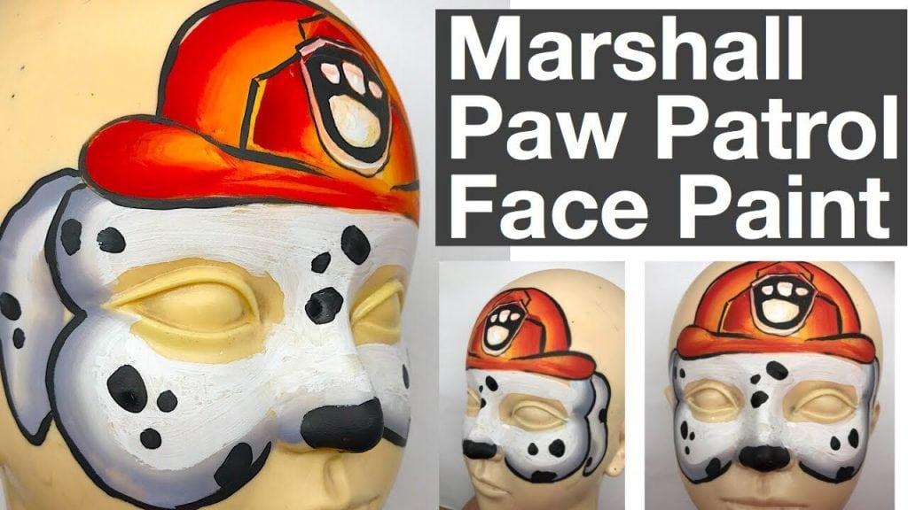 Paw Patrol Marshall Face Painting Class