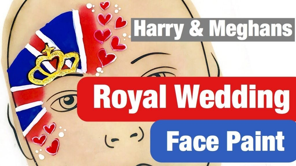 Royal Wedding Face Paint Tutorial