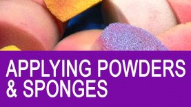 Free Face Painting Classes – Applying Powders and Sponges