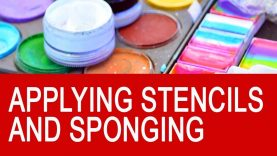 Free Face Painting Classes Online – Applying Stencils & Sponging