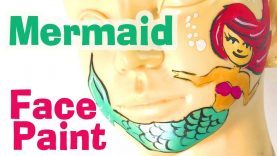 Mermaid Face Painting – How to Face Paint a Mermaid