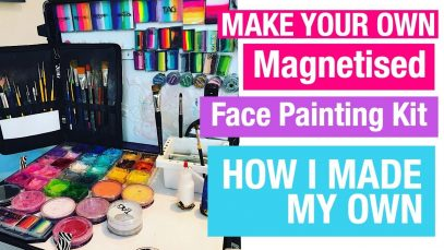 My Face Painting Craft n Go Alternative – How I made my face painting kit