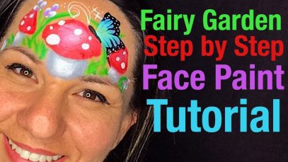 Mushroom Fairy Garden Face Painting Class