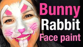 How to face paint a bunny rabbit