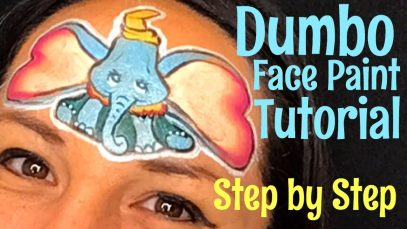 Dumbo Face Paint How to face paint Dumbo