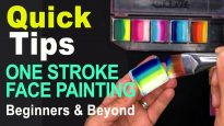 How to load your brush for One Stroke Face Painting
