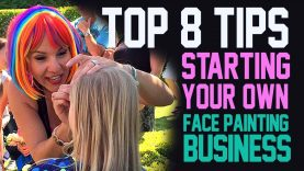 Top 8 Tips on Starting your own face painting business