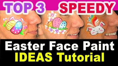 Easter Face Paint Ideas – Easy and quick Easter Face Paint Designs